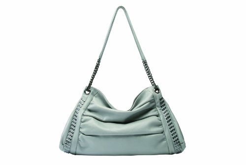 Ri2K - Borsa shopper, Donna Grigio (Grau (Grey))
