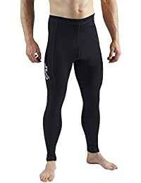 Sub Sports Herren Leggings / Base Layer, mit Merinowolle schwarz