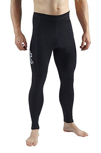 Sub Sports Herren Leggings / Base Layer, mit Merinowolle schwarz schwarz M