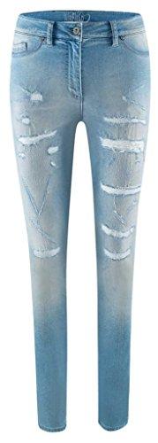 Airfield Damen Jeans JPL-555 Blau
