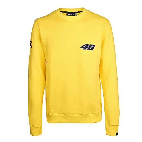 Valentino Rossi vr|46MotoGP Herren Gelb 2002-01Crew Sweatshirt XXL gelb