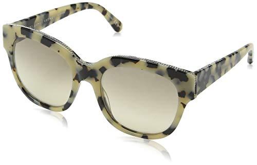 Stella mccartney sc0007s 002, occhiali da sole unisex - adulto, marrone (002-avana/grey), 54