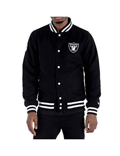 New Era Herren Oakland Raiders Collegejacke schwarz S