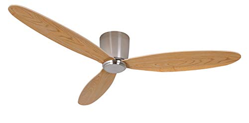 Ventilador techo AirFusion Radar-Moderno Ventilador con Ultr aleichten contrachapado alas en imitación...