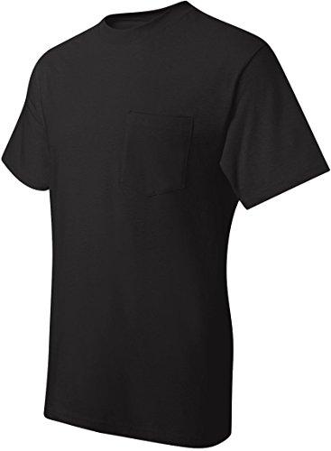hanes-t-shirt-uomo-nero-medium