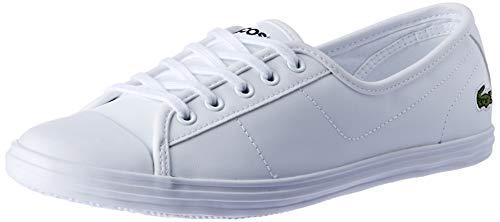 Lacoste Ziane BL 1 CFA, Zapatillas para Mujer, Blanco White, 42 EU