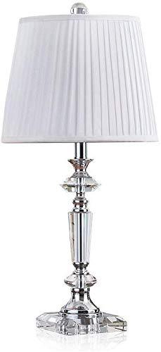 Lámpara de mesa grande de cristal Dormitorio Lámpara de noche Sala ...