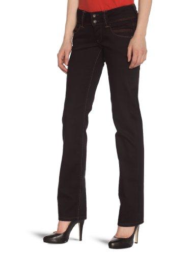 Pepe Jeans Venus–Jean–Schmale Passform–Black Wash–Damen Gr. 24 W/32 L (Herstellergröße : 24 W/32 L), denim
