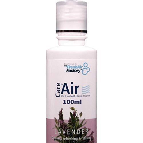 Duft für Luftreiniger - CareforAir Lavendel Aromatherapeutisch (100ml) - VERWENDUNG IN DER REVITALIZERS, IONISATOREN, LUFTBEFEUCHTER - 100% Produkt Zufriedenheit Garantie -