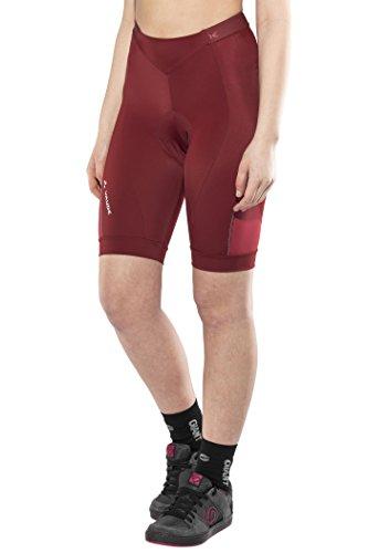 VAUDE Damen Advanced Pants II Hose, Red Cluster, 38