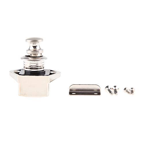 Almencla Push Button Latch Lock Keyless Für Boot RV Cabinet Schrank Nickel