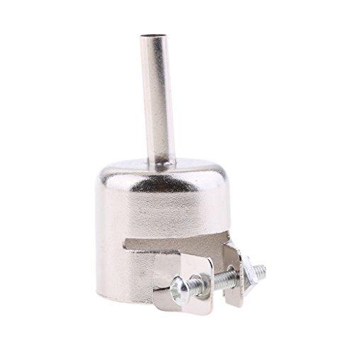 MagiDeal 1 Stück Hitzebeständiges Kreisförmigen Düsen - Druckluftwerkzeuge Zubehör - Silber - 5mm