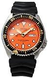SEIKO SKX011J1 Orologio Automatico Uomo Diver 200m Orange Dial