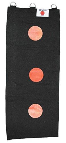 Bolsa pared 3 sección Senshi Japón hecha lona negro