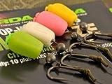 Korda Fake Pop-up Maize (10 Stück), künstlicher Mais, Karpfenköder, Angelköder zum Karpfenangeln, Farbe:grün