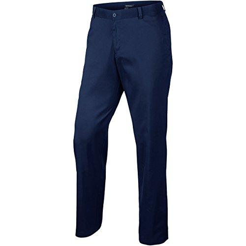Nike Herren Hose Flat Front, 639779-021 dunkelblau