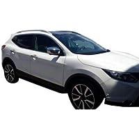 Zubehör für Hyundai Santa Fe 2014-2017 Chrom Spiegelkappen Spiegelblenden Tuning
