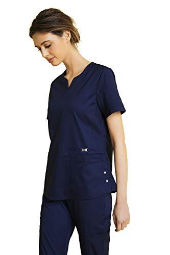 Camisola Sanitaria Mujer Cuello Muescas - Pijama Sanitario