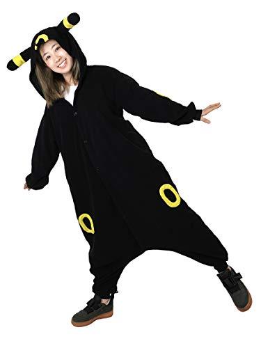 cosplaystudio Pokemon Nachtara Jumpsuite für Erwachsene, Evoli Kostüm, - Pokemon Kostüm Für Erwachsene