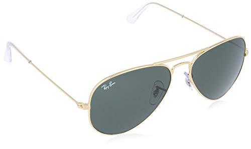 Ray-ban rb 3025 occhiali da sole, oro (gold), 55 mm unisex-adulto