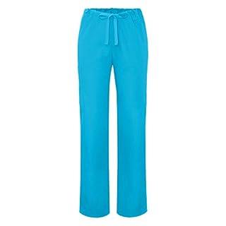 ADAR UNIFORMS Medical Scrub Pants – Unisex Hospital Uniform Trousers, Color TRQ | Size: S