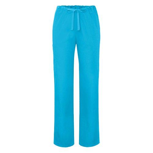 Medizinische Schrubb-hosen – Unisex Krankenhaus-uniformhose 504 Farbe: TRQ -