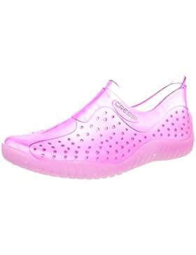 [Patrocinado]Cressi Water Shoes, Escarpines Unisex Niños, Rosa, 33/34 EU