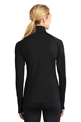 Sport-Tek - Sweat-shirt - Blouson - Femme Noir - Noir