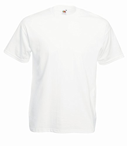 Fruit of the Loom Valueweight T-Shirt Weiß