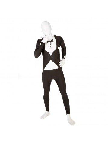 Kostüm schwarz Smoking (Morphsuits Schwarz)
