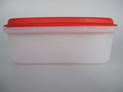 TUPPERWARE Mikrowelle Pasta-Meister 1,9 L Rot weiß Nudelkocher I57