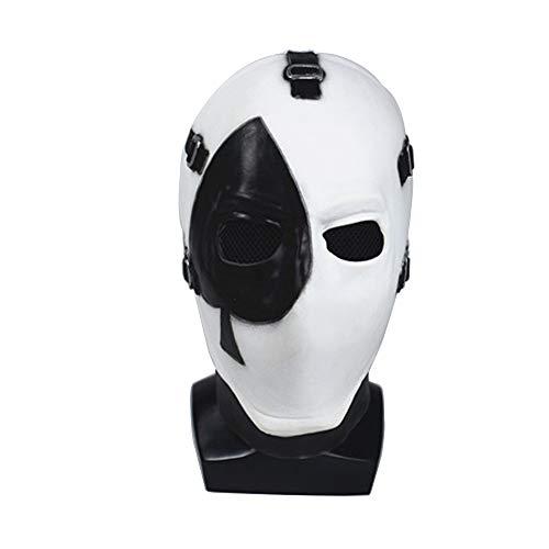 AJXKA Scary Evil Clown Maske Double Face Latex Halloween Kostüm Party Maske Für Maskerade Geburtstagsfeiern Karneval Dekorationen (2019 Myers 3 Halloween Michael)