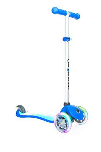 Globber Primo Fantasy Lights Scooter-Raketen-Blau