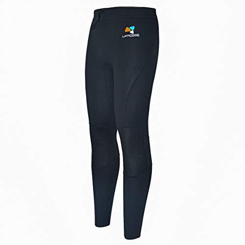 LayaTone Pantalon en Néoprène 3mm Combinaison Plongée Surf Kayak Hommes Jambières de Plongée Femmes Hommes