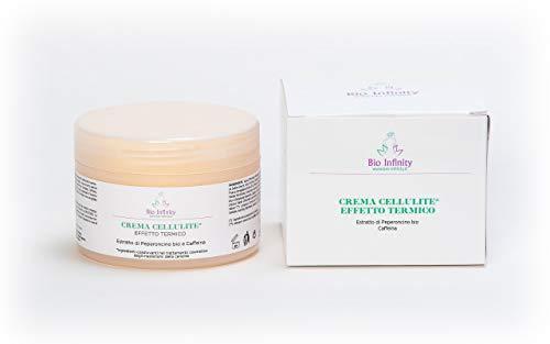 Crema Cellulite Effetto Termico Estratto di Peperoncino bio e Caffeina 250ml