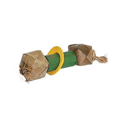 Rosewood 19100 Woven Rollers Bambus, Spielzeug, Hantel für Kleintiere
