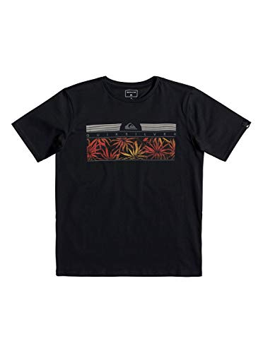 Quiksilver Jungen The Jungle T-Shirt, Black, XL/16 -