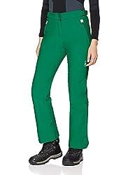 Die Campagnolo Skihose für Damen hat folgende Eigenschaften: Diese Campagnolo Skihose für Damen ist mit zwei Reißverschlusstaschen versehen. Die Hosenbeine haben unten einen Schneefang. Weiter ist die Skihose wasserdicht bis 8.000mm Wassersäulenwert....