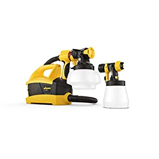 Wagner Universal Sprayer W 690 FLEXiO - Electric Paint Sprayer for Wall & Ceiling/Wood & Metal paint - interior and exterior usage, covers 15 m² in 6 min, 1800 ml/800 ml capacity, 630 W, 3.5 m hose