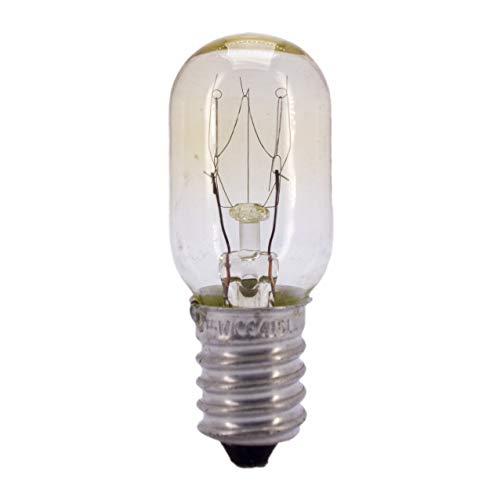 Kühlschrankbirne Glühbirne Kühlschrank Glühlampe E14 15W 230V klar Nähmaschine - 15w Glühlampe