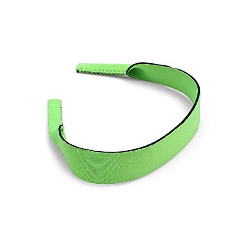 Twin Pack Brillen/Sonnenbrillen Sports Stretchy Neopren Halsband - Green - 525 Brillen