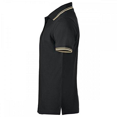 Poloshirt, Regular Fit - 2 Stück Set - Schwarz, M Schwarz
