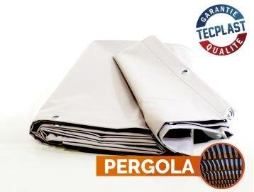 Bache Pvc 2 X 3m - Toile pour pergola PVC 680 g/m² -