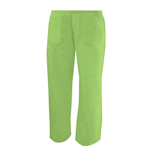 Misemiya - pantaloni elastici uniforme di lavoro clinica ospedale pulizia veterinario igiene ospitalitÁ - ref.711 - xxl, apple green