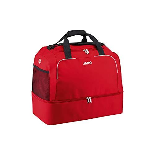 JAKO Sporttasche Classico mit Bodenfach, 50 cm, 55 L, Rot