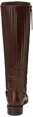 Clarks - Marquette Silk, Stivaletti Donna Marrone (Dark Brown Lea)