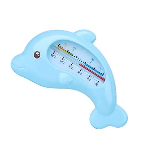 Vektenxi Kinder Dusche Wasser Thermometer Baby Baden Delphin Form Temperatur Kleinkinder Kleinkind Wasser messen langlebig und praktisch
