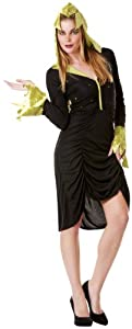 César - Disfraz de bruja para mujer, talla 38 (B887-004)