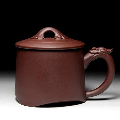 DABAOBEI Yixing Purple Sand Pot, lila Ton Teetasse, Dragon Style, Teetasse, Puer, Oolong, grüner Tee Tasse,