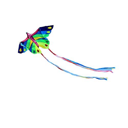 TYD.L Drachen J-125 Brise Leicht Zu Fliegen Langlebig Kind Erwachsener Riesig Schmetterlingsdrachen Verwendet Für Im Freien Park Strand Geschenk 2 * 0,9 M Schwanzlänge 3M